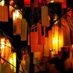 東京大神宮の七夕2018混雑状況やライトアップいつまで?短冊の効果口コミは?